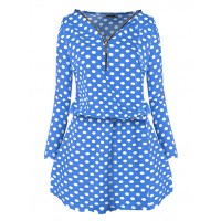 Sukienka Spots Blue