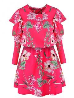 Sukienka Lagos Fuchsia