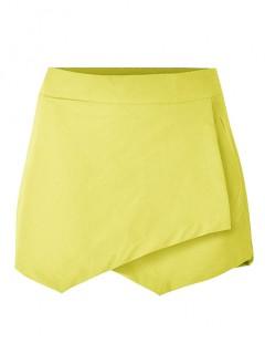 Spodenki Kopertowe Żółte