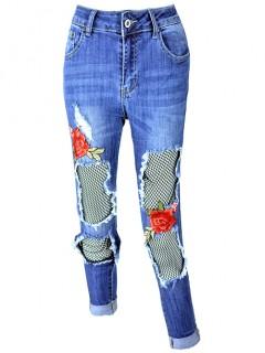 Spodnie No-Stop Haft