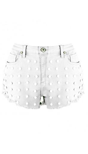 Spodenki Pearls White