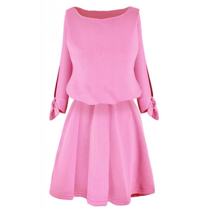 d7e6bfdf8c Sukienka Venus Dolly Pink Damskie