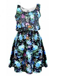 Sukienka Gipiura Navy Blue