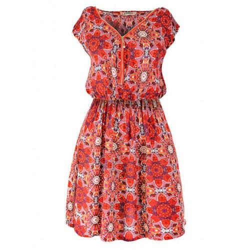 Sukienka Floral Red
