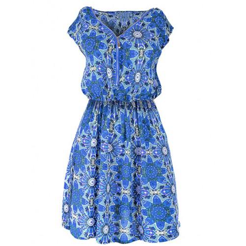 Sukienka Floral Blue