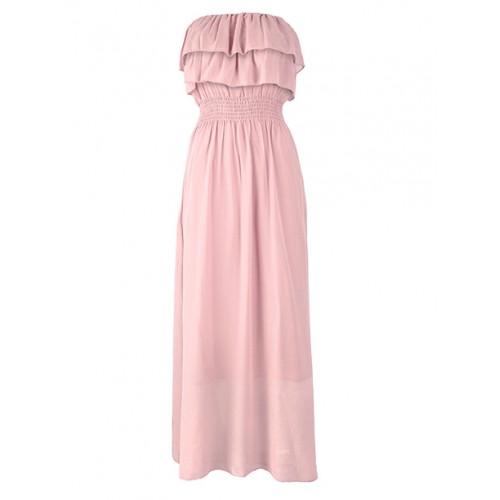 Sukienka Maxi Pink