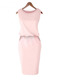 Sukienka Lizbona Baby Pink
