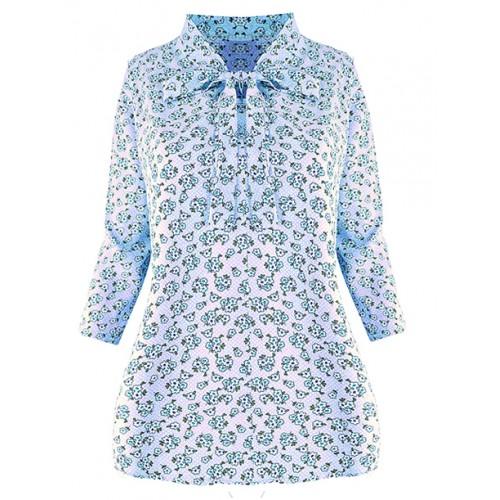 Bluzka Over Lilly Blue