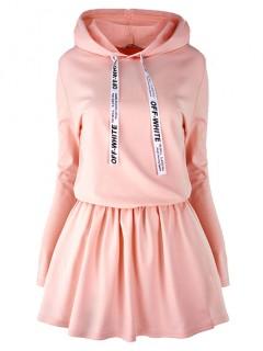 Sukienka Off White Apricot
