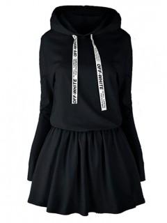Sukienka Off White Black