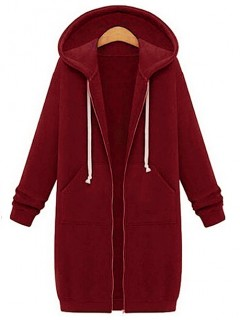Bluza L-Basic Burgundy