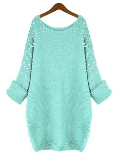 Sweter Pearls Mint