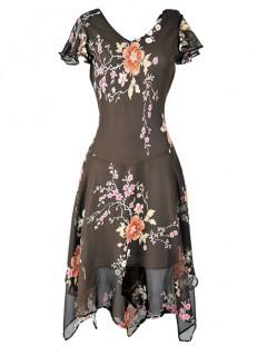 Sukienka MICHELLE Brown
