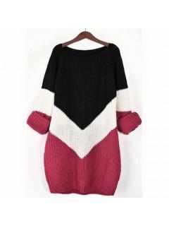 Sweter VICTORIA Raspberry
