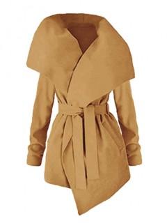 Płaszcz Flausz Camel