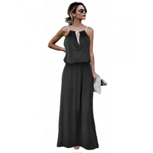 Sukienka Agness Maxi Black