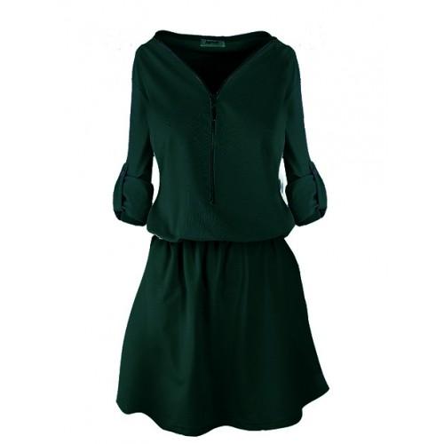 Sukienka ZIP Emerald