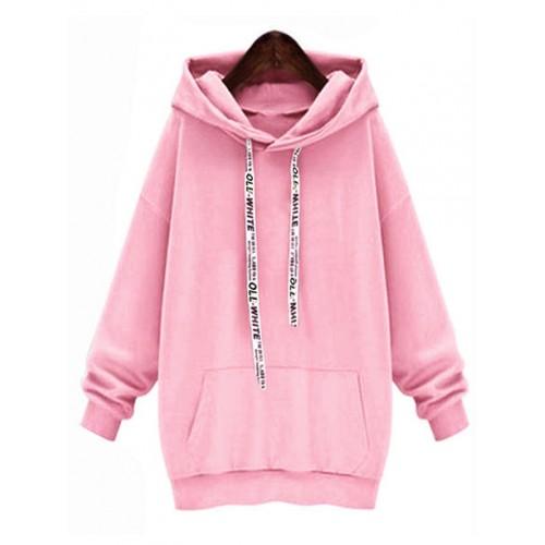 Bluza Oll White Pink