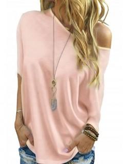Bluzka Over Pastel Pink