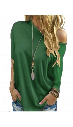 Bluzka Over Emerald