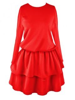 Sukienka Princess Fire Red
