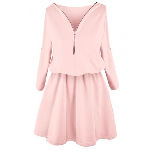Sukienka ZIP Patel Pink