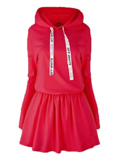 Sukienka Off White Fire Red