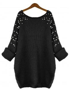 Sweter Pearls Black