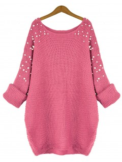 Sweter Pearls Pink