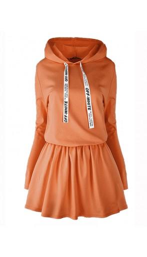 Sukienka Off White Cinnamon