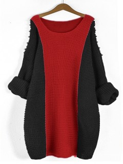 Sweter Fem Deep Red