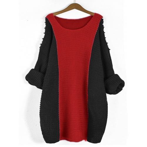 Sweter Fem Deep Red