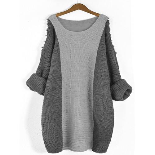 Sweter Fem Grey