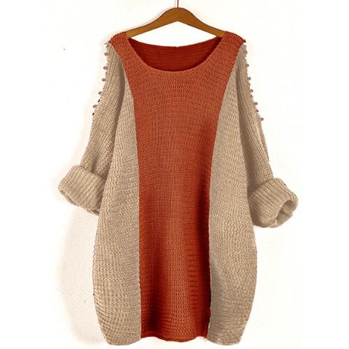 Sweter Fem Brick