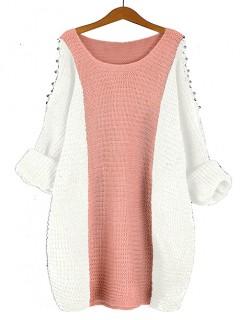 Sweter Fem Pastel Pink