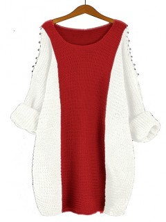 Sweter Fem True Red