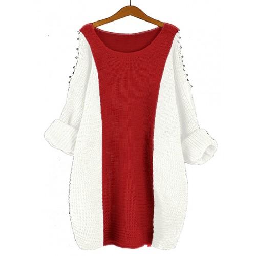 Sweter Fem True Red