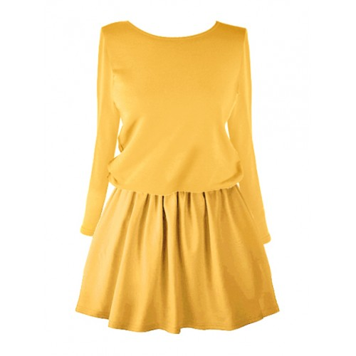 Sukienka Flab Mustard