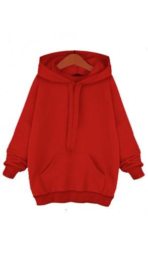 Bluza Basic True Red