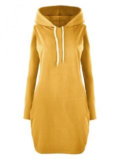 Sukienka Kangurka Mustard