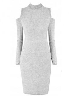 Sukienka Carmen Pastel Grey