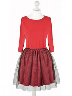 Sukienka Glossy Red