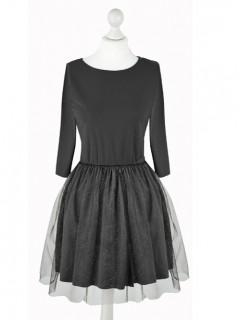 Sukienka Glossy Black