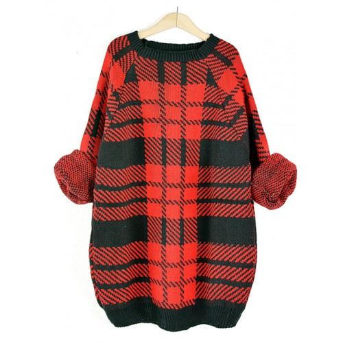 Sweter Krata Red