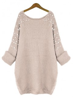 Sweter Pearls Beżowy