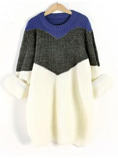 Sweter Shiny Cobalt