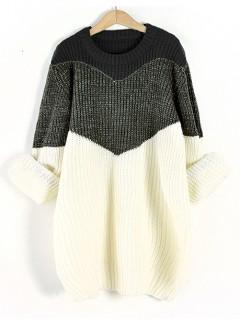 Sweter Shiny Black