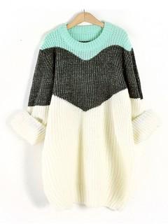 Sweter Shiny Mint