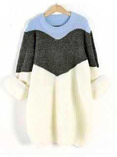 Sweter Shiny Blue