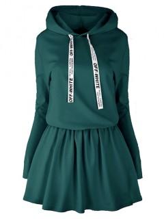 Sukienka Off White Emerald